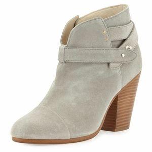 Rag & Bone 'Harrow' Suede Ankle Boots Light Gray
